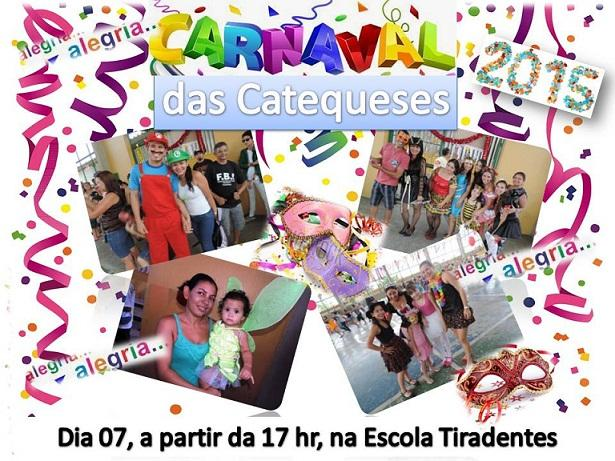 carnaval da catequese