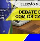 CONVITE: Debate do povo com os candidatos a Prefeito de Manaus.