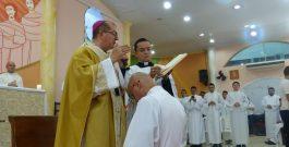 Ordenação Diaconal do seminarista Hilton Brito de Oliveira