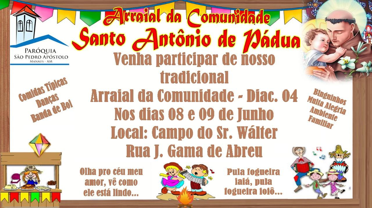 Arraial da Comunidade Santo Antônio de Pádua