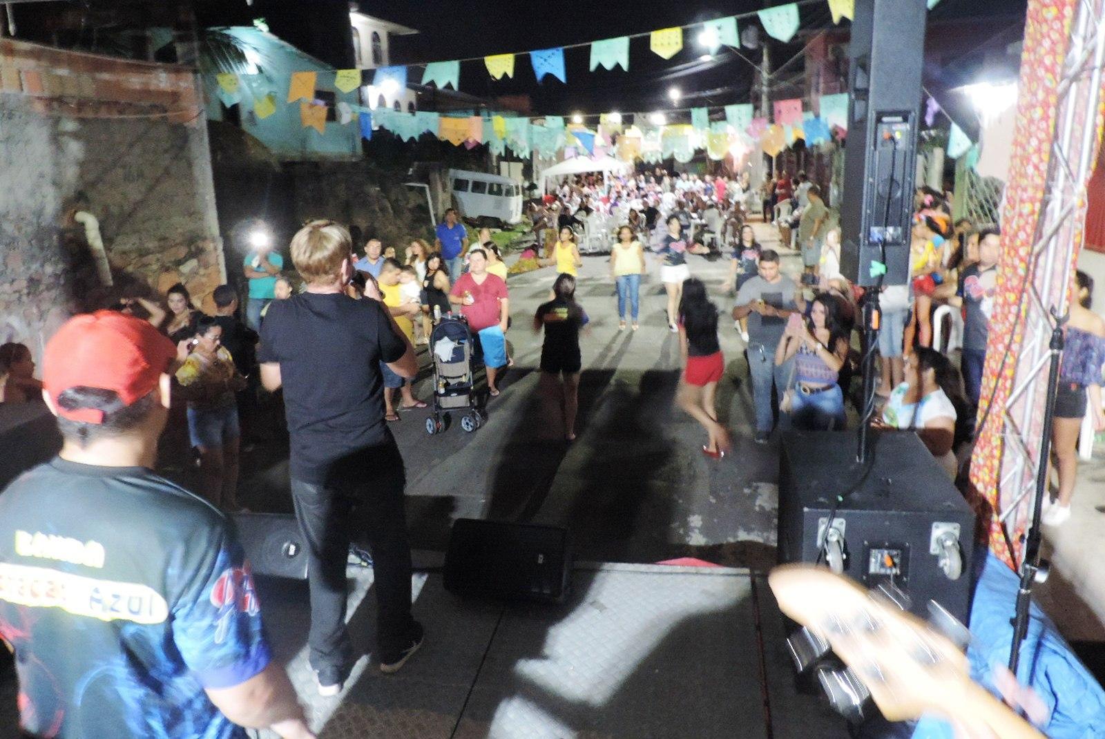 Arraial da comunidade Santa Ana e São Joaquim 2018