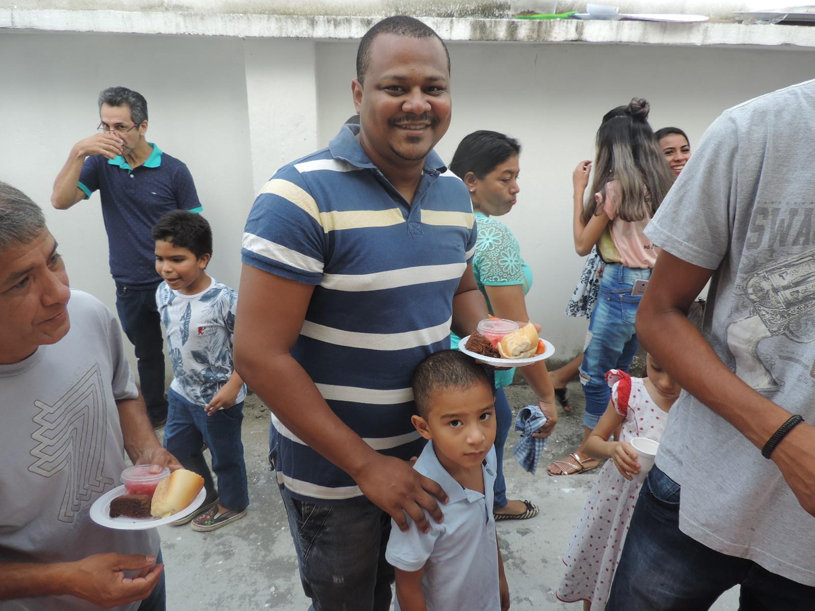 Homenagem aos Pais na Comunidade de Santa Rita de Cássia
