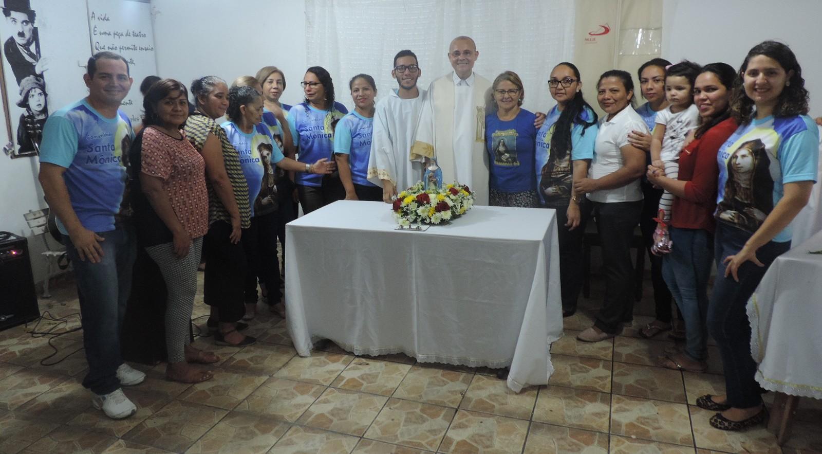Celebração em Honra a Santa Mônica