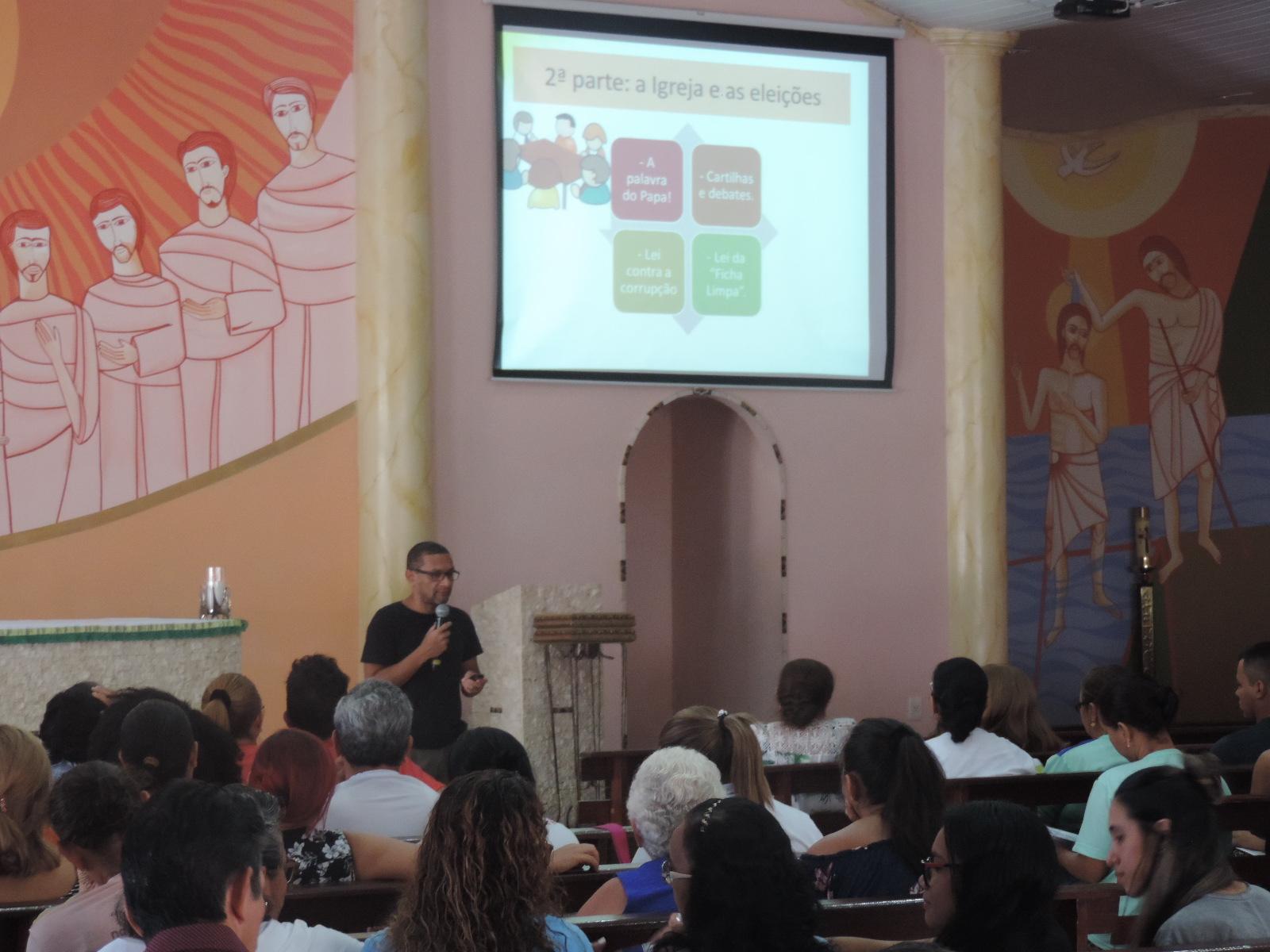 """Formação """" Os Cristãos e as Eleições 2018″"""