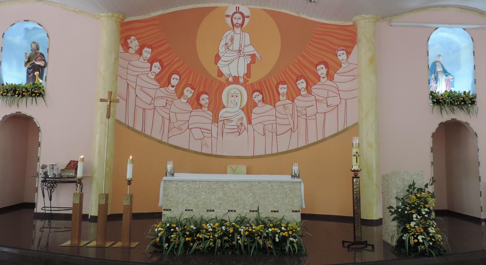 Celebração da 1ª Eucaristia Grupo 1