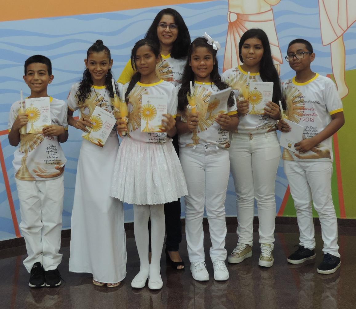 Celebração da 1ª Eucaristia Grupo 2