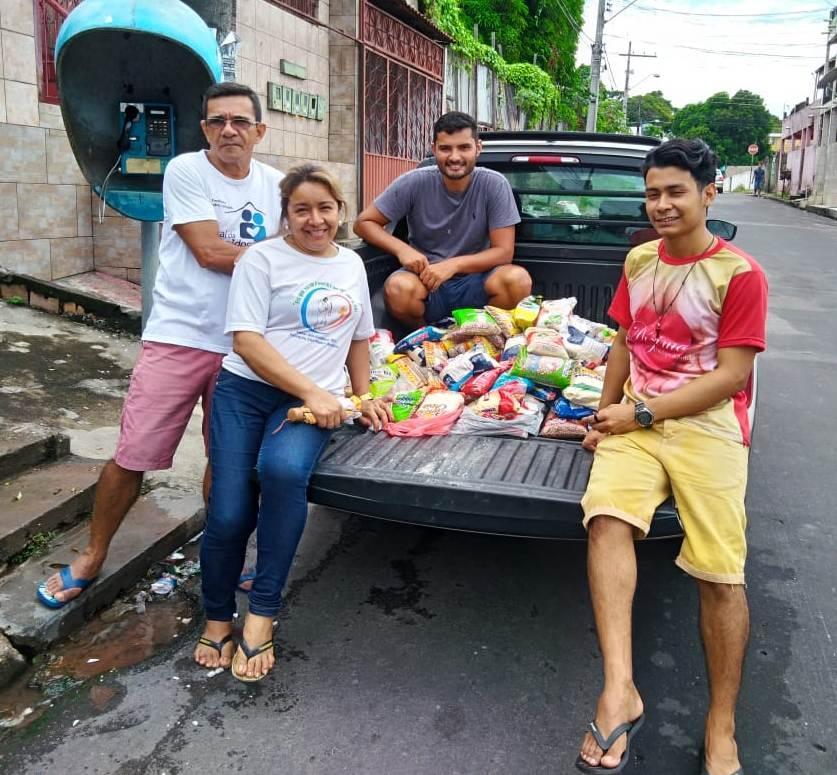 Coleta Solidária de Alimentos nas Comunidades