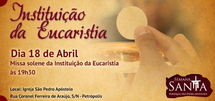 Instituição da Sagrada Eucaristia
