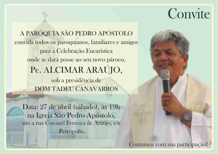Posse do Padre Alcimar Araújo