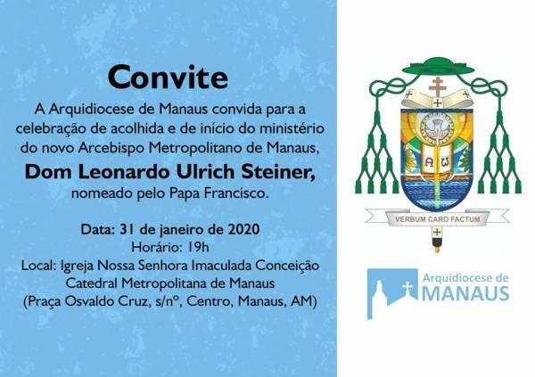 Celebração de acolhida do novo Arcebispo de Manaus